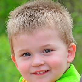 Smiley Boy by Larry Strong - Babies & Children Children Candids