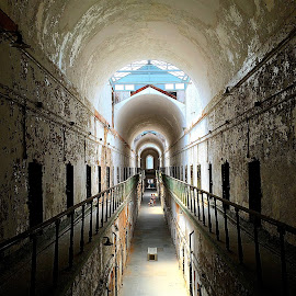 prison by Nichole Denning - Buildings & Architecture Decaying & Abandoned ( old, prison, cold, jail, abandoned )