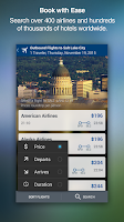 Screenshot of Travelocity Hotels & Flights