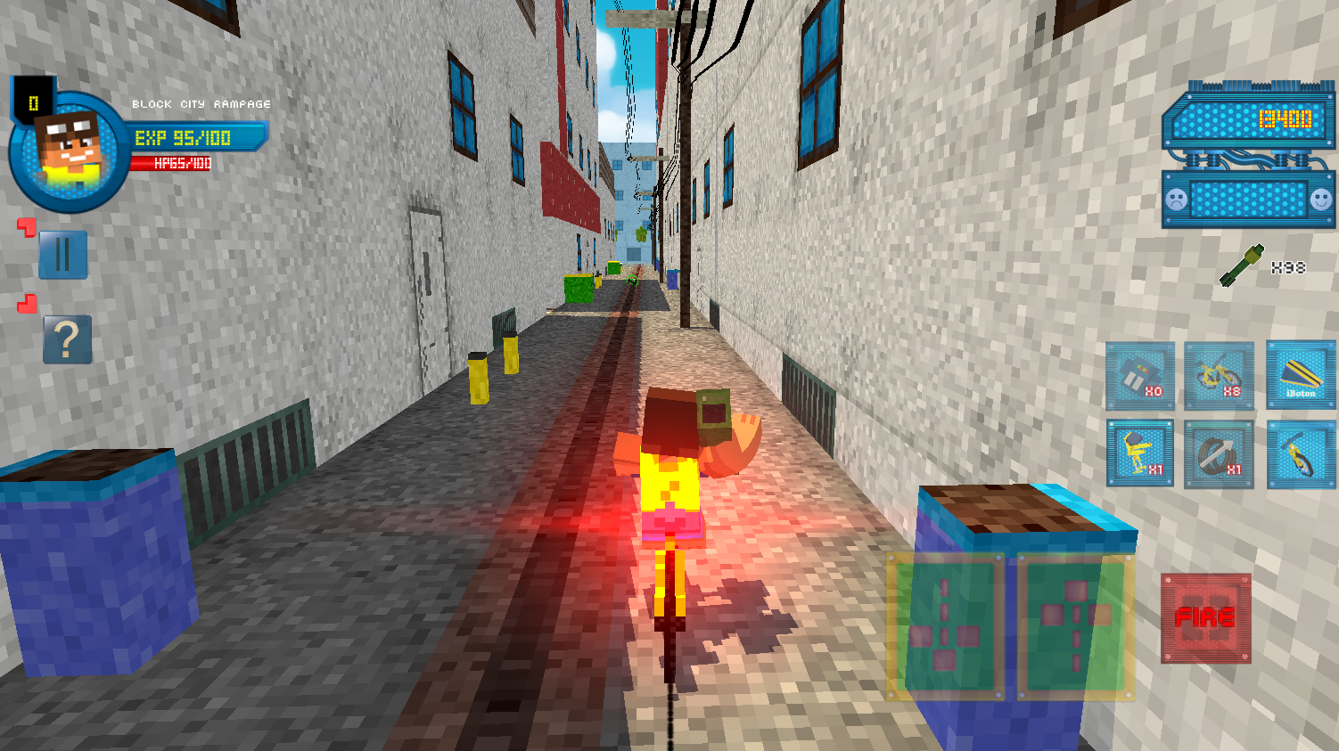 Block City Rampage Screenshot 2