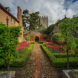 Greys Court | National Trust by Yordan Mihov - City,  Street & Park  Historic Districts ( england, greys court | national trust, europe, architecture )