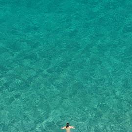 Swimming in Tropea sea by Fernando Garcia de Freitas - Sports & Fitness Swimming ( tropea, italy, swimming )