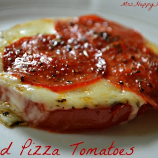 Baked Pizza Tomatoes