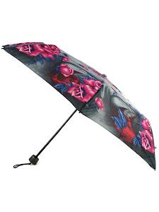 """Зонт """"Компакт S"""", серый розовый"""