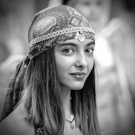 Odalisca by Ricardo Figueirido - Black & White Portraits & People