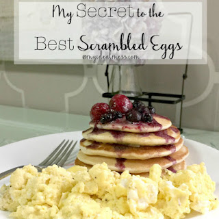 My Secret to the Best Scrambled Eggs