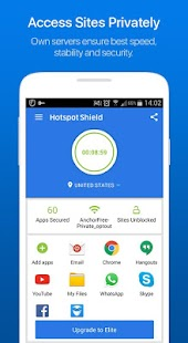 Hotspot Shield Free VPN Proxy- screenshot thumbnail
