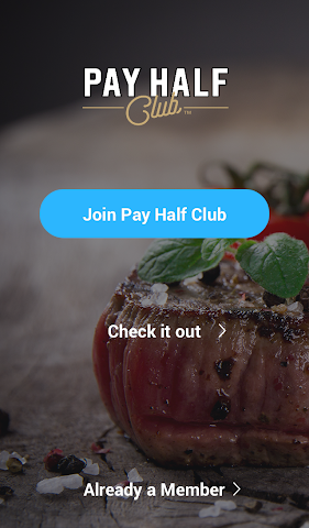 android Pay Half Club Screenshot 0