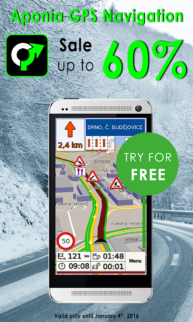 GPS Navigation & Map by Aponia screenshots