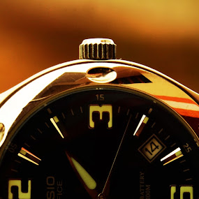 Wrist Watch by Vasanth Photographer - Artistic Objects Technology Objects ( sepia, time, watch, half, wrist watch )
