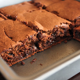 """Healthy"" Brownies made in the Blender in Minutes!"
