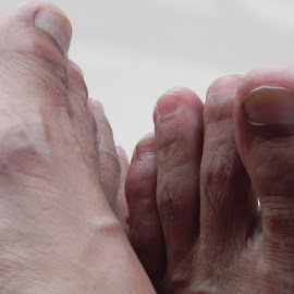 Feet by Neeraj Sehgal - People Body Parts ( body parts, feet, nails, people, human )