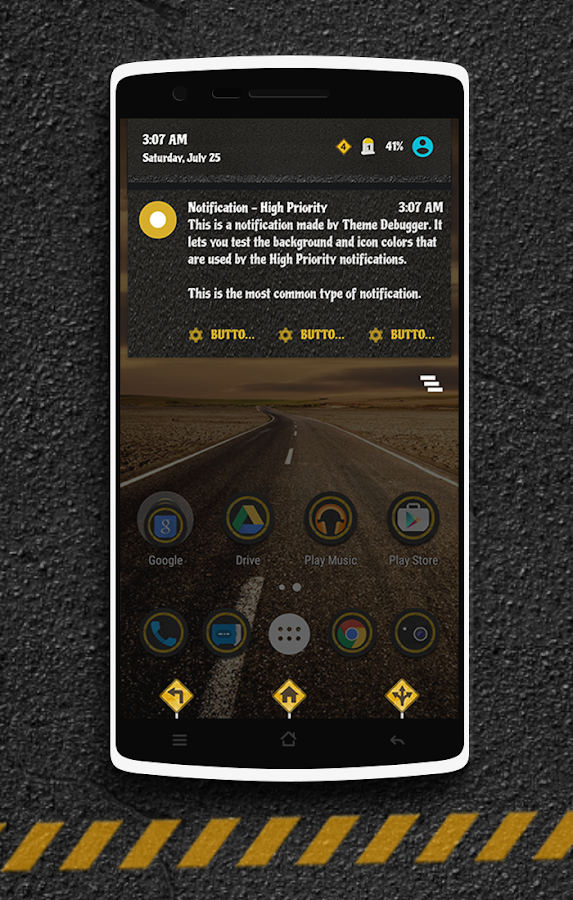 The Road CM13 CM12 DU Theme Screenshot 12