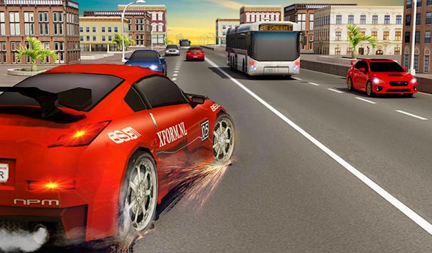 Traffic Highway Car Racer apk screenshot