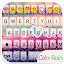 APK App COLOR RAIN Emoji Keyboard Skin for iOS