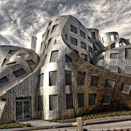 Brain Health Research by Jim Antonicello - Buildings & Architecture Architectural Detail ( las vegas, cleveland clinic, lou ruvo center for brain health )