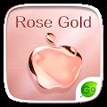 Free Rose Gold GO Keyboard Theme APK for Windows 8