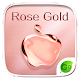 Rose Gold GO Keyboard Theme APK