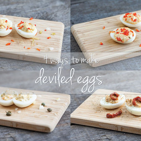 4 Ways To Make Deviled Eggs