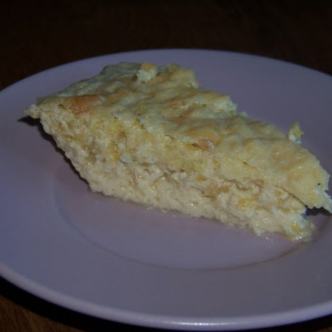 Mock Coconut Squash Custard Pie