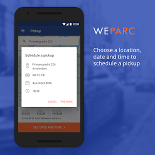 WeParc - Valet parking service (Unreleased) - screenshot