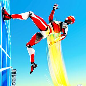 Speed Robot Game – Miami Crime City Battle Online PC (Windows / MAC)