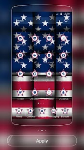 American Flag theme US Flag for Lollipop - Android 5.0