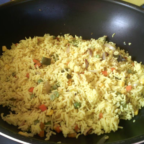 Homemade Safrane Rice In A New Style
