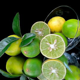 lime digital by Asif Bora - Digital Art Things (  )