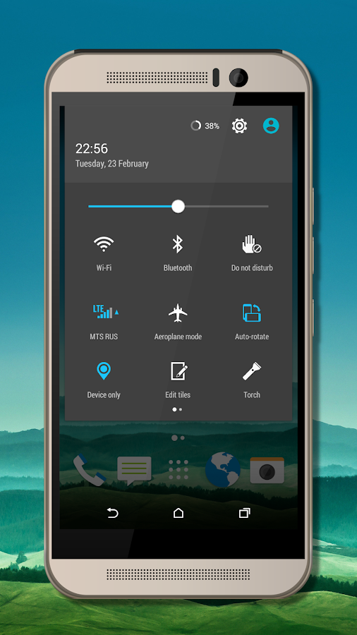 Sense 7 Default CM13 theme Screenshot 4