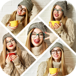Auto Collage Photo Grid Maker , Pics Frame Editor