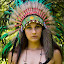 Native American Girl / Jackie 001 by Barry Blaisdell - People Portraits of Women ( sexy, model, nature, outdoors, beautiful, indian, native american )