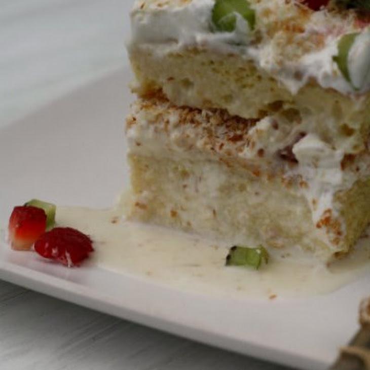 Coconut Tres Leches Cake (Pastel de Tres Leches con Coco) Recipe ...