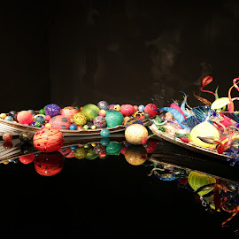 Chihuly's glass supture by Nelin Reisman - Artistic Objects Glass ( artisticglass, chihuly's, handblownglass )