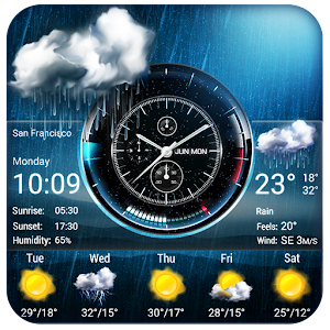Weather Widget on Home Screen For PC