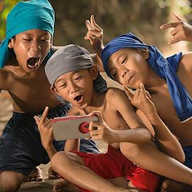 selfie by Bramantya Wardana - Babies & Children Children Candids