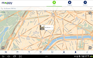 Screenshot of Mappy- Itinéraire & Vie locale