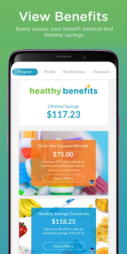 Healthy Benefits Plus screenshot for Android