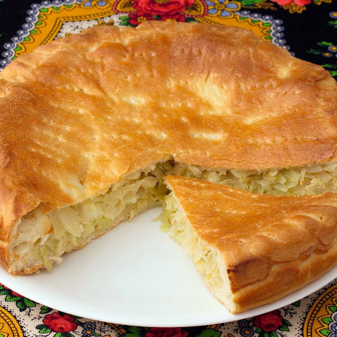 Pie with Cabbage and Eggs