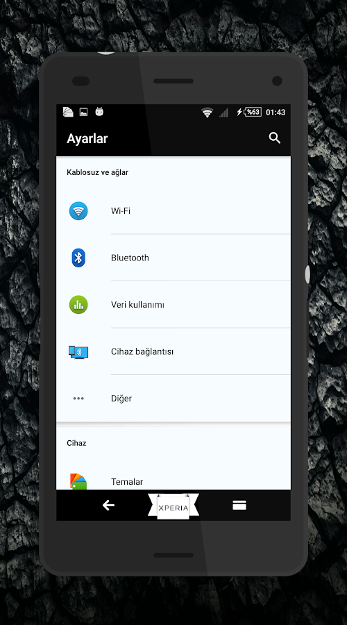 Theme MarshBlack For Xperia Screenshot 2