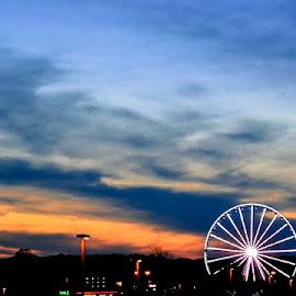Gatlinburg by Robin Stover - City,  Street & Park  Amusement Parks
