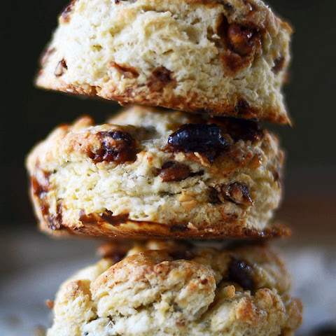 Honey Roasted Pecan and Blue Cheese Biscuits