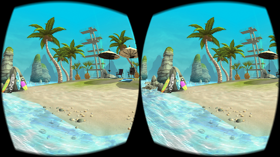 Hello Summer Beach VR Screenshot