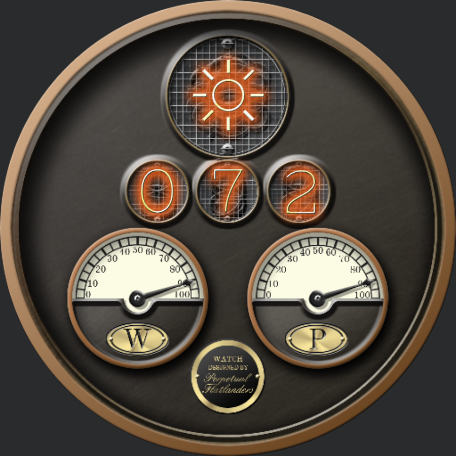 Steampunk VII for WatchMaker Screenshot 3