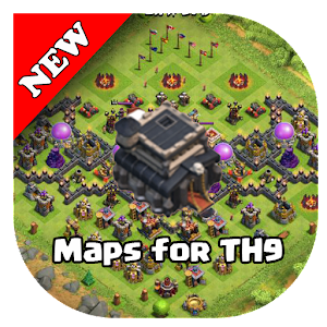 Download free COC Base Map for TH9 for PC on Windows and Mac
