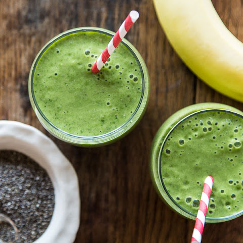 Mango Spinach Banana Smoothie