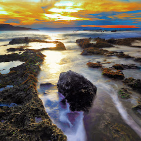 another sunrise2 by Henry Pribadi - Landscapes Waterscapes