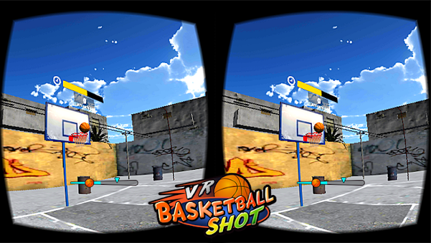 VR Basketball Shot apk screenshot