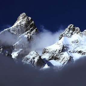 A Wizard Lives Here by Charles Grubbs - Landscapes Mountains & Hills ( jackson, wyoming, jackson hole, grand tetons )