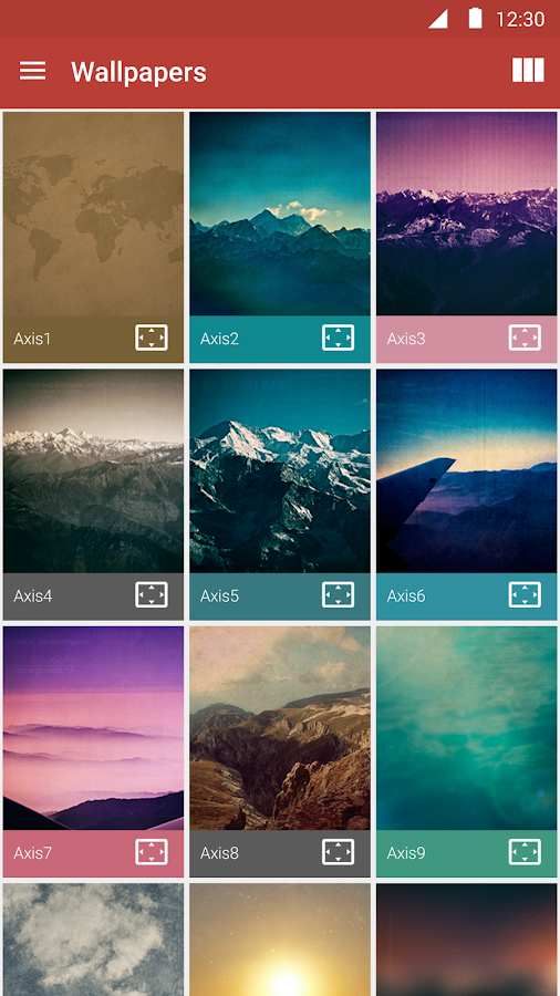 Axis Icon Pack Screenshot 6